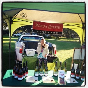 Bellarine Community Farmers Market wine tent